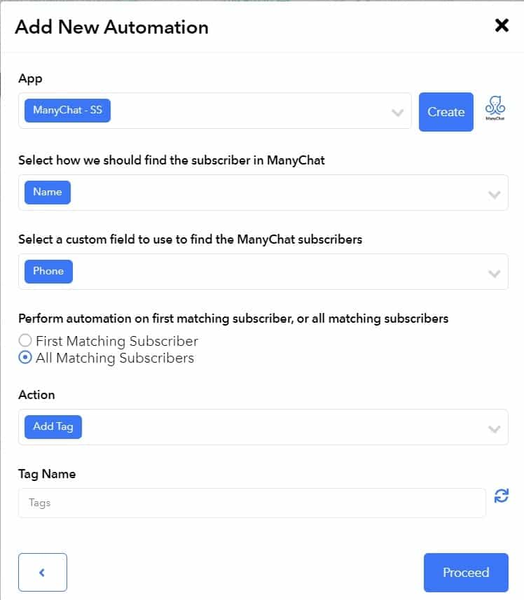 manychat automation on surgesocial